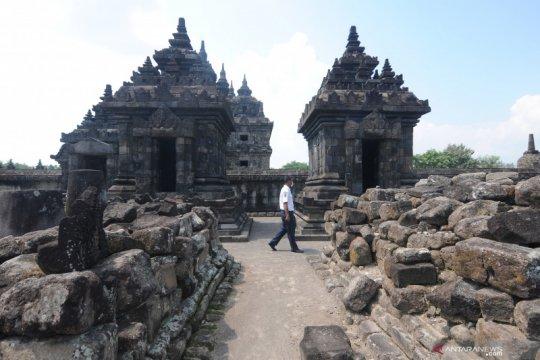 Berada di zona kuning, Candi Prambanan dibuka untuk wisatawan