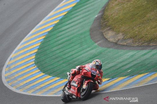 Miller tercepat di FP1 GP Prancis