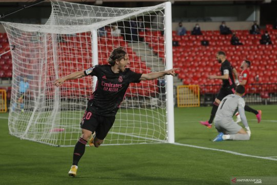 Liga Spanyol : Real Madrid menang 4-1 atas Granada