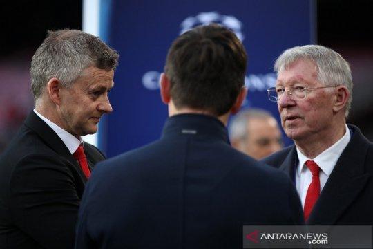Sir Alex Ferguson puji tenor kepelatihan Solskjaer bersama Setan Merah