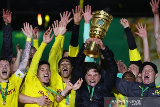 Daftar juara DFB Pokal: Dortmund tim kelima kumpulkan lima trofi