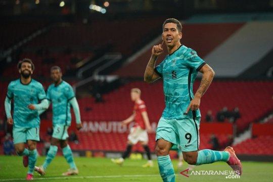 Liverpool taklukkan Old Trafford demi jaga asa empat besar