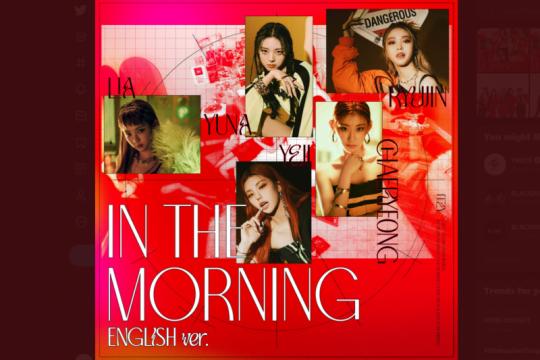 """ITZY rilis """"'Mafia In the Morning"""" versi bahasa Inggris"""
