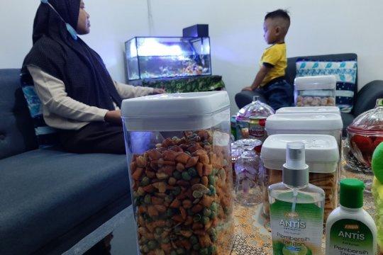 Lebaran dengan protokol kesehatan di Kampung Bugis