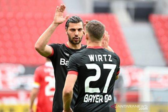 Leverkusen kunci tiket Europa lantaran Gladbach dikalahkan Stuttgart