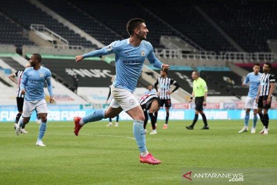 Hentikan perlawanan Newcastle, City patahkan rekor kemenangan tandang