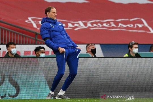Final Piala FA, Tuchel perdana dampingi Chelsea di depan suporter