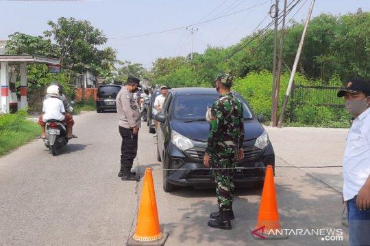 Satgas COVID-19 Tangerang lakukan penyekatan di kawasan objek wisata