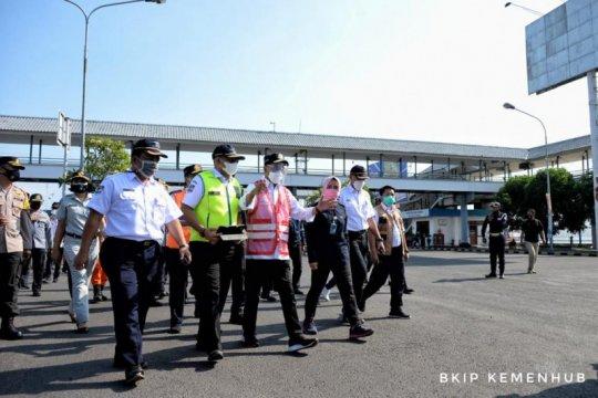 Menhub tinjau kesiapan Pelabuhan Gilimanuk antisipasi penumpang