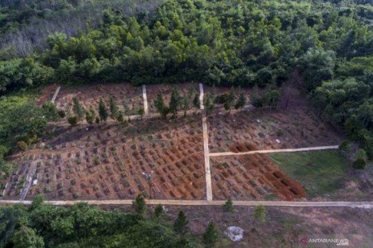Pemakaman khusus COVID-19 di Palembang terisi 15 persen