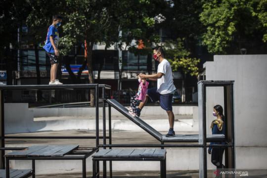 Pengamat: Pembukaan taman kota berdampak positif bagi UMKM