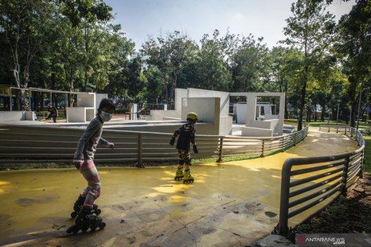 Taman Kota di Jakarta tetap dibuka saat libur lebaran