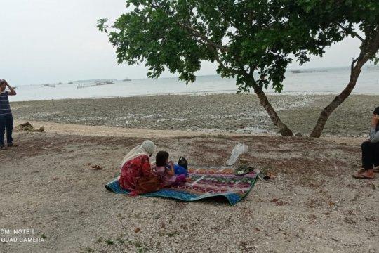 Obyek wisata Tanjung Lesung sepi pengunjung
