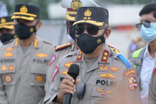 Korlantas Polri perketat pengawasan antisipasi arus balik