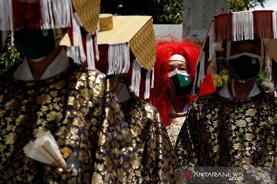 Festival Sanja Matsuri digelar saat pandemi COVID-19 di Tokyo