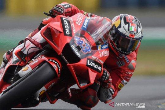 Miller juarai GP Prancis di tengah cuaca 'semrawut' Le Mans
