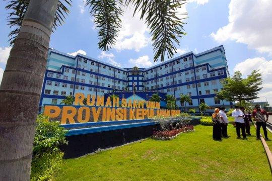 Tempat tidur isolasi dan ICU empat rumah sakit di Kepri sudah penuh