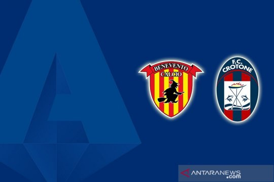 Gol larut Crotone kikis peluang Benevento hindari degradasi