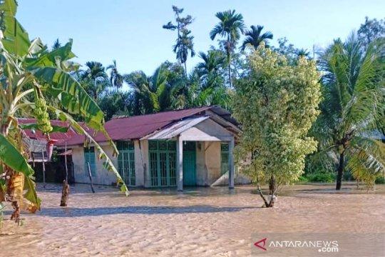 Ratusan rumah di Nagan Raya Aceh masih terendam banjir