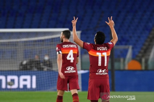 Roma rebut Derby della Capitale, habisi peluang Champions Lazio
