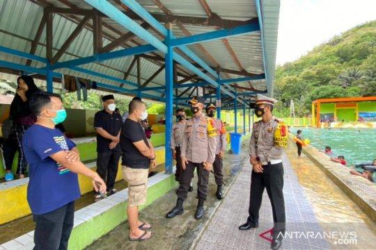 Tempat wisata Matua Waterpark ditutup sementara karena langgar prokes
