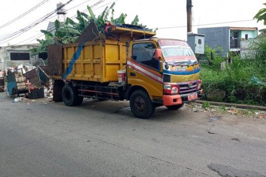 Volume sampah di Kota Tangerang naik empat persen selama libur lebaran