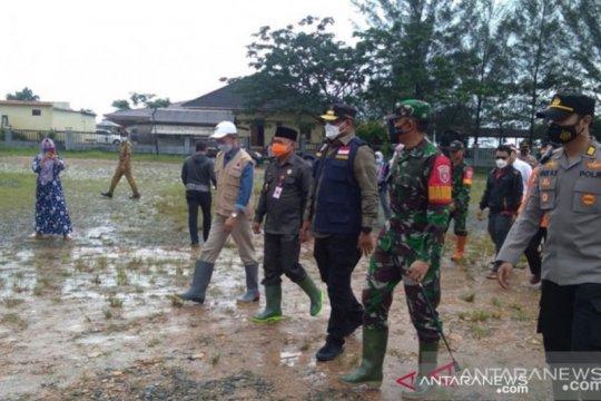 Banjir di Satui Tanah Bumbu berangsur surut