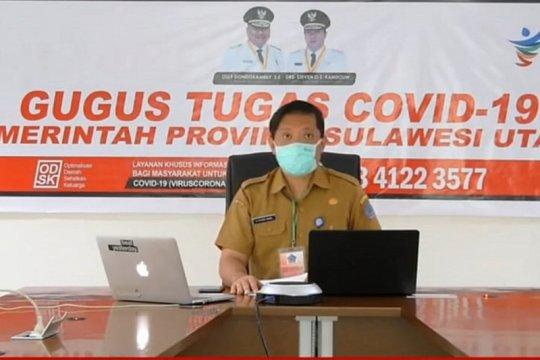 Kasus aktif COVID-19 di Sulut tinggal 4,17 persen
