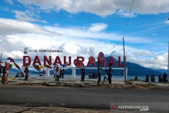 Jalur akses objek wisata Danau Ranau OKU Selatan Sumsel ditutup