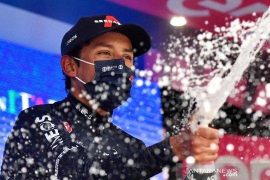 Egan Arley Bernal Gomez juara etape 9 Girod'Italia