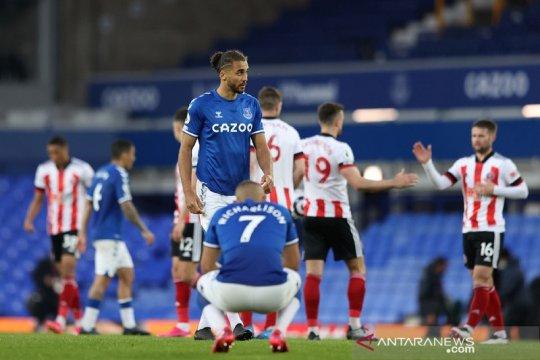 Mimpi Eropa Everton meredup selepas dipecundangi tim juru kunci
