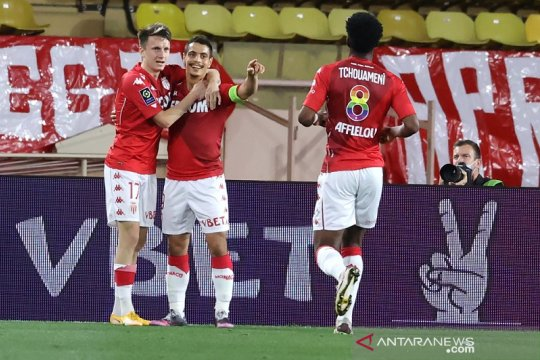 Monaco perkuat cengkeraman zona Champions seusai tundukkan Rennes