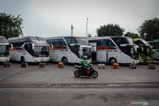 Penumpang di Terminal Kalideres belum meningkat saat pelonggaran PPKM