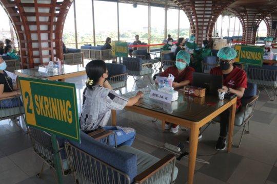 Ratusan pelaku pariwisata gunakan Vaksin Sinovac di Badung-Bali
