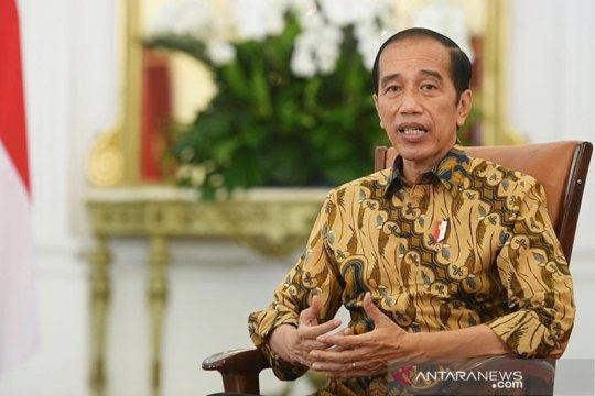 Presiden Jokowi: TWK bukan dasar pemberhentian 75 pegawai KPK
