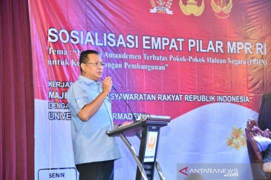 Ketua MPR: Kehadiran PPHN tidak sebabkan Presiden jadi mandataris MPR
