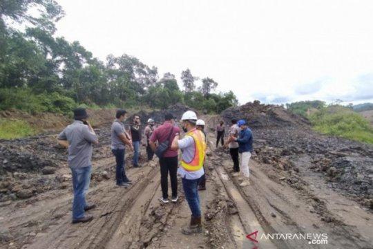 Ribuan metrik ton batubara barang bukti peti di PT AGM diduga dicuri