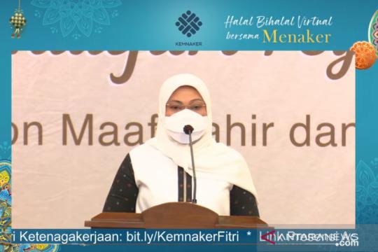 Menaker Ida apresiasi ketaatan pada larangan mudik Lebaran 2021