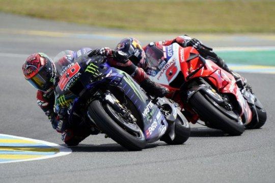 """""""Ini balapan teraneh dalam hidup saya,"""" kata Quartararo di Le Mans"""