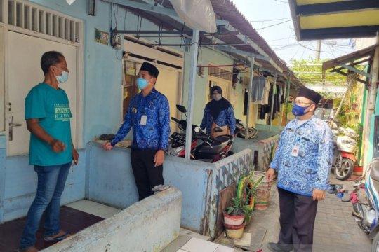 Satgas Sigacor kelurahan data warga usai perjalanan luar kota