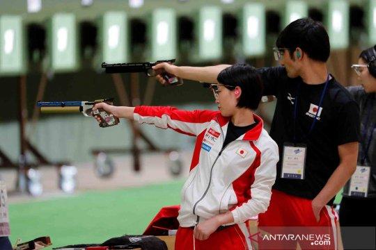 Uji coba pertandingan menembak Olimpiade Tokyo 2020