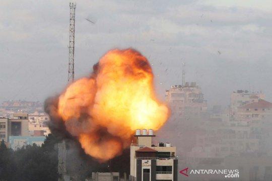 Serangan udara Israel ke Gaza terus berlangsung