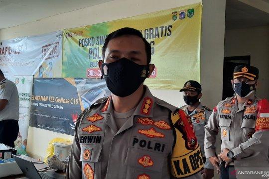 Polrestro Jakarta Timur antisipasi penyebaran COVID-19 di terminal bus