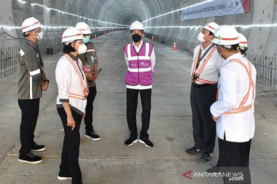 Presiden berharap akhir 2022 kereta cepat Jakarta-Bandung diuji coba