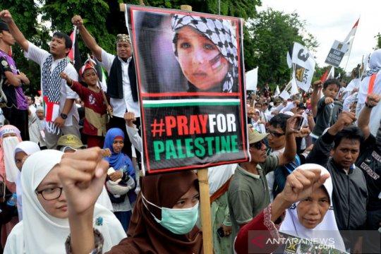 1.140 personel polisi amankan aksi bela Palestina