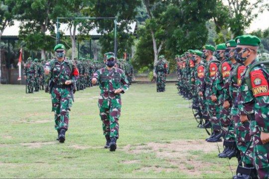 450 Prajurit 643/Wanara Sakti amankan perbatasan RI - Malaysia