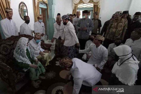 Keraton Kanoman Cirebon gelar tradisi halal bihalal terbatas