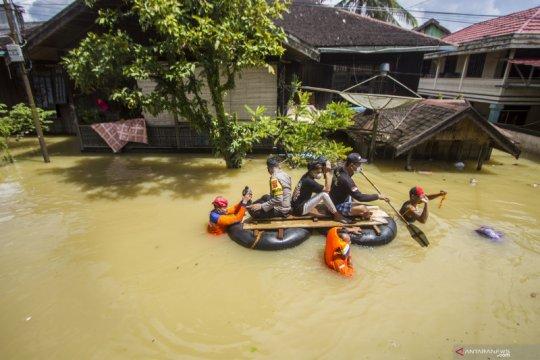 Galian tambang ubah morfologi Sungai Satui hingga memicu banjir