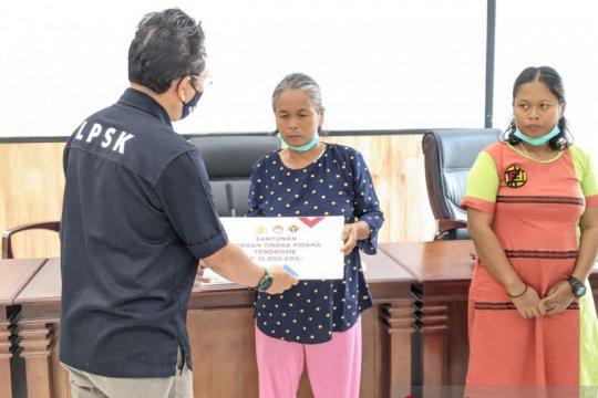 LPSK santuni keluarga korban terorisme di Poso