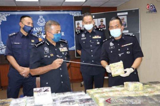 Polisi Johor ungkap penyelundupan narkoba internasional ke Indonesia